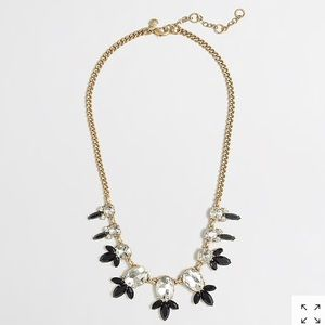 J Crew Crystal Drop Statement Necklace-NWT